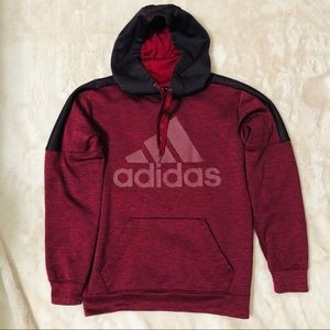 Adidas climawarm pull over hoodie NWOT